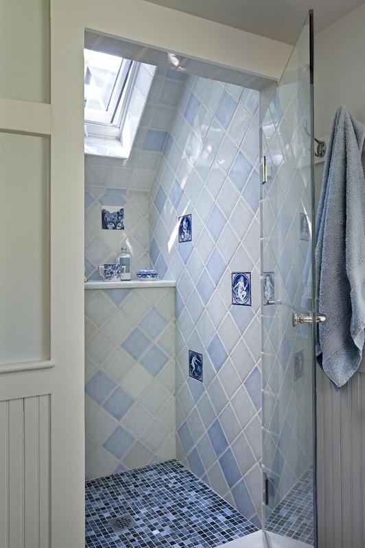Lavander bathroom