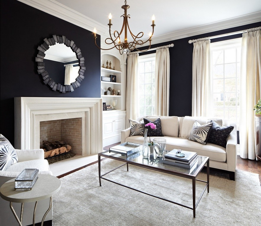 How to Decorate Your Home in Black and White