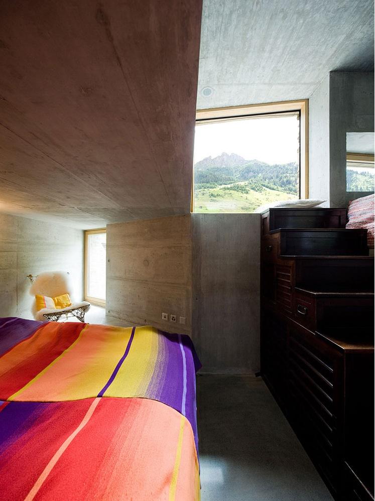 Alps Villa Vals Kitchen