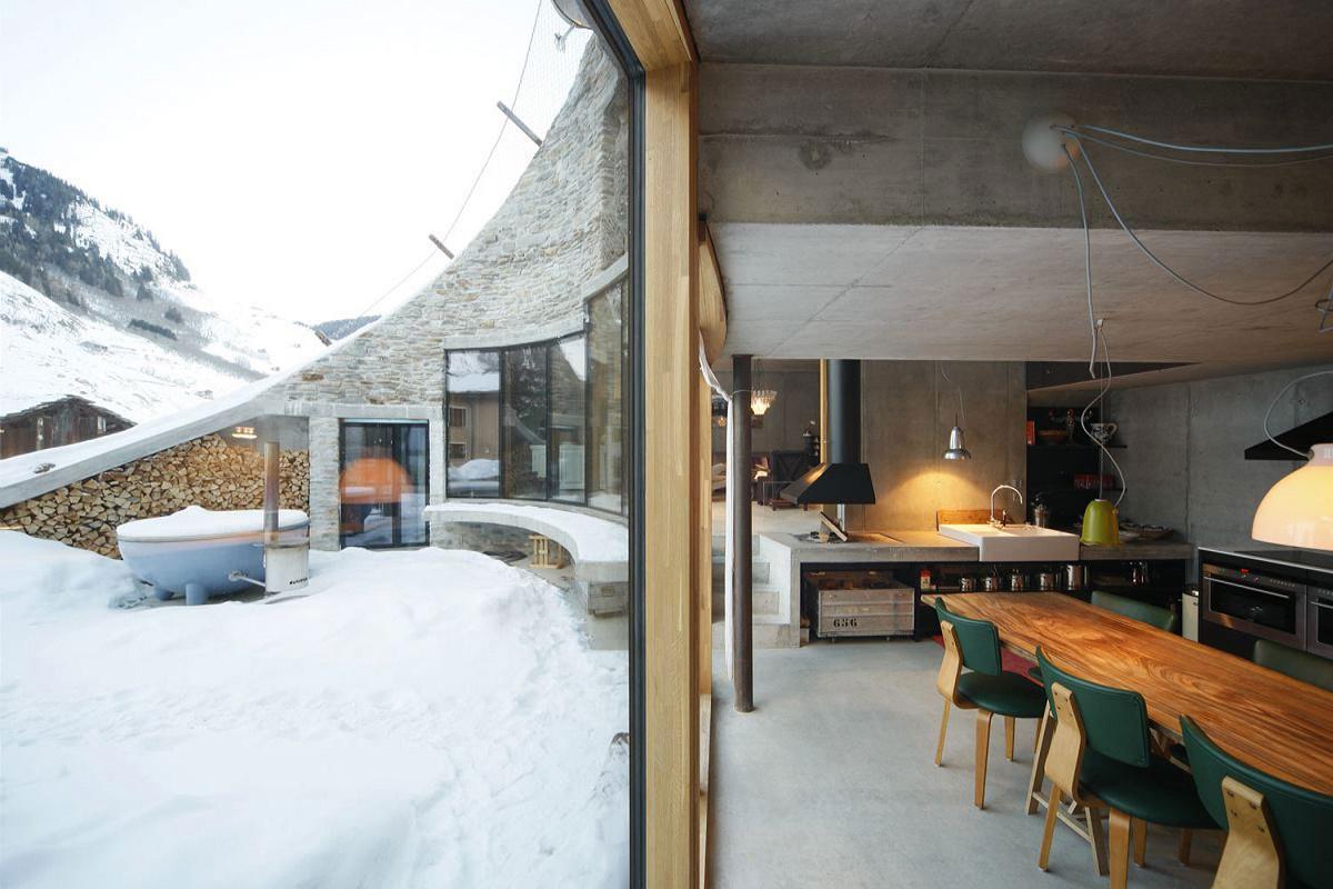 Kitchen Villa Vals