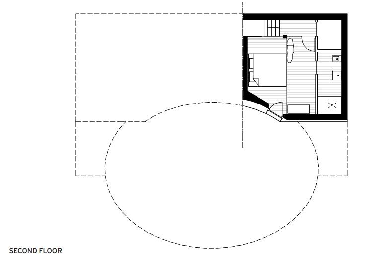 Plans Villa Vals - Second Floor