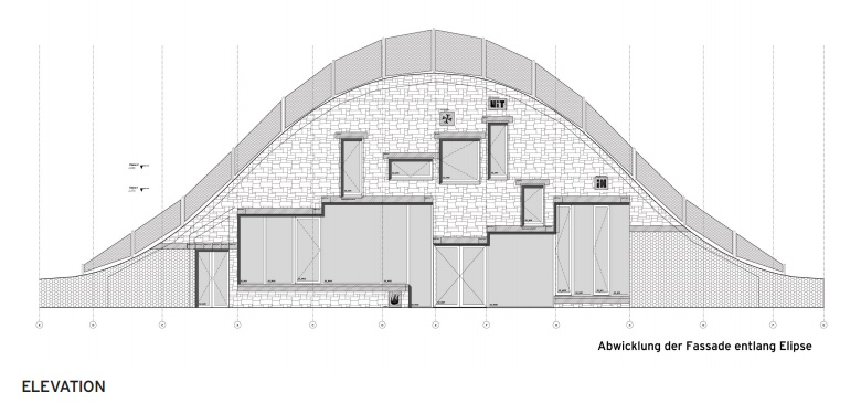 Plans Villa Vals - Elevation