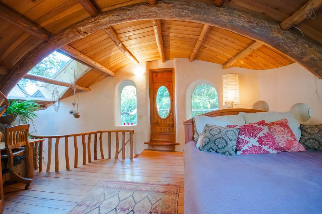 Cob House - dormitor