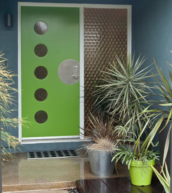 Colorful House - entry door