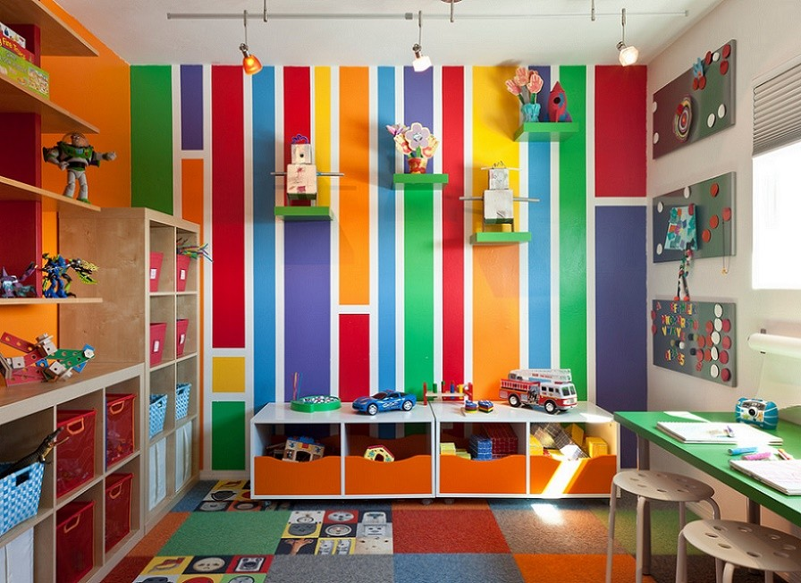 Colorful House - children room