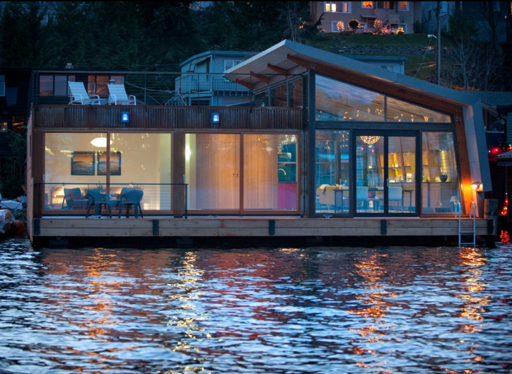 Floating House in Seatle
