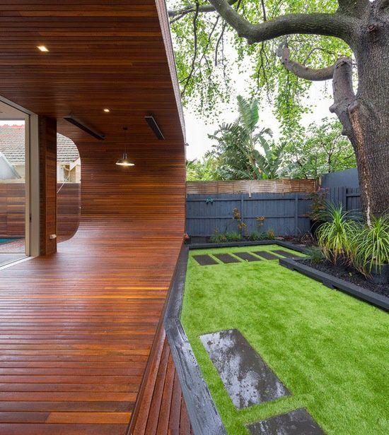 Ultramodern House - Gardem