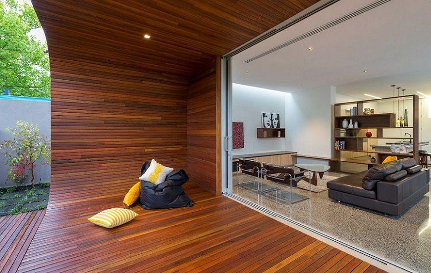 Ultramodern House - Porch