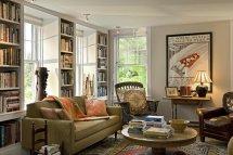 Image Imagini amenajare living traditional Smith Vansant Architects