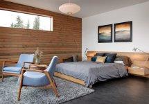 Image Dormitor modern intr-o casa plutitoare