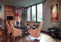 Image Sufragerie moderna cu priveliste deosebita