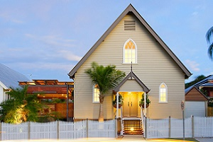 Heavenly Transfiguration: an Old Church into a Luxurious Home