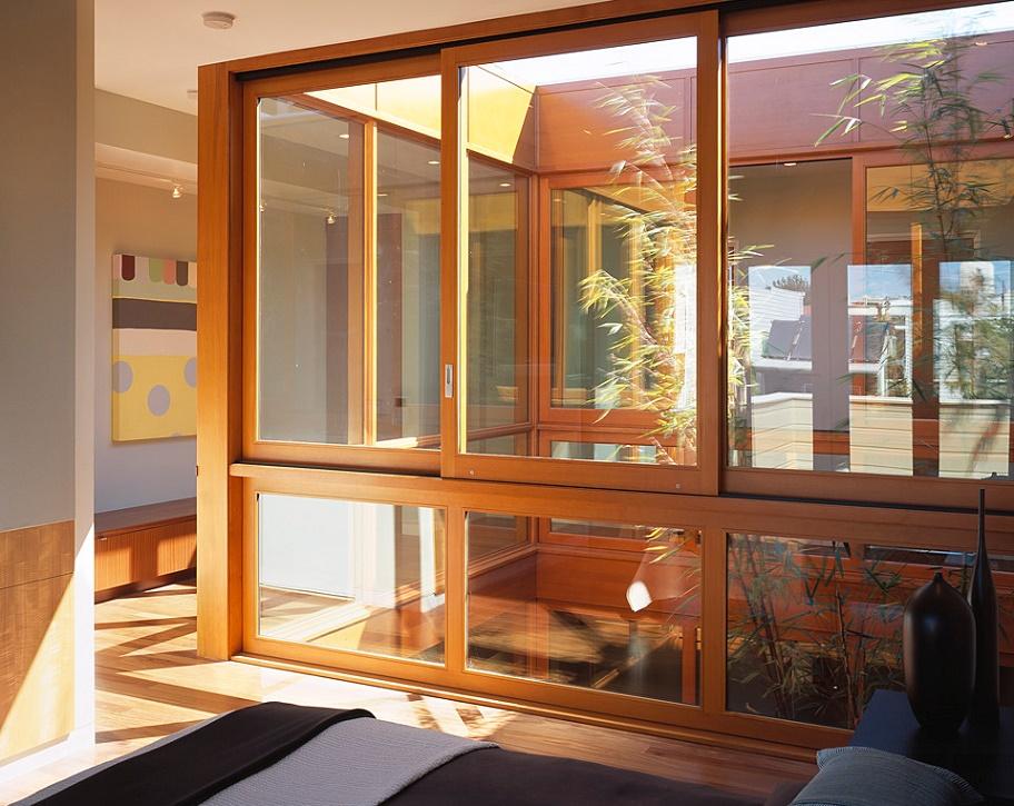 Inner cortyard from bedroom