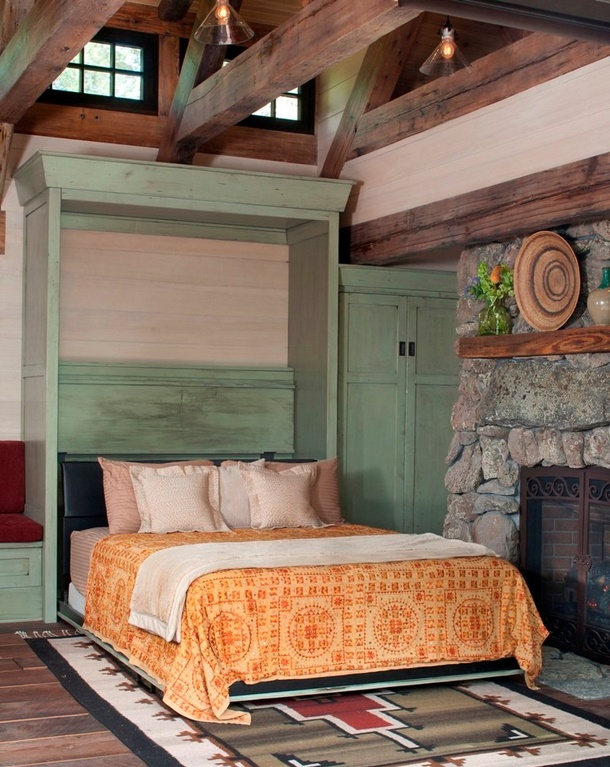 Mountain Cottage, recliner bed