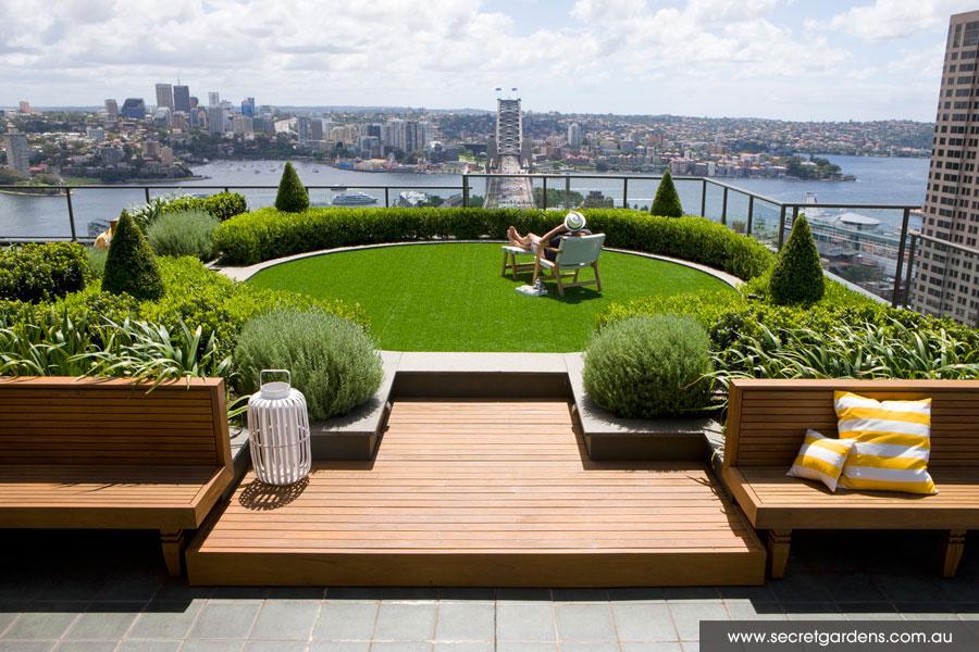 A Sky-High Garden