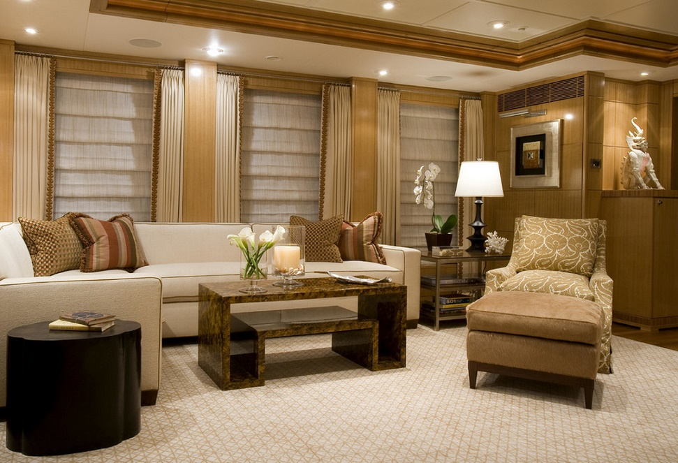 Slojo Yacht - Livingroom