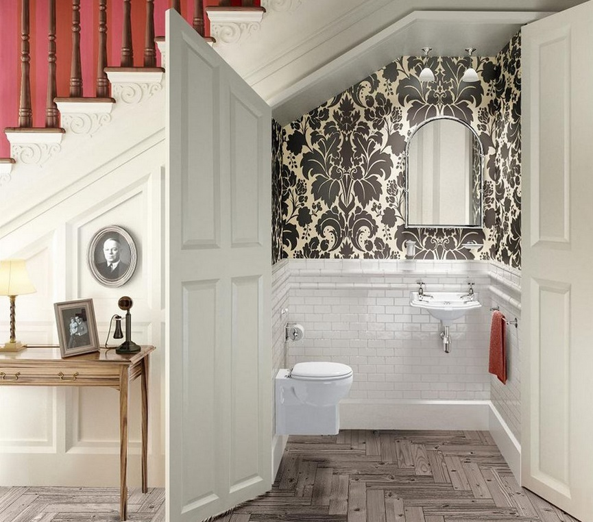 How to Style up a Small Bathroom