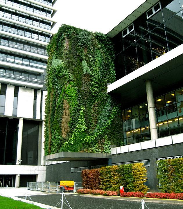 Vertical Garden, Hotel Departement Hauts de Seine, Paris