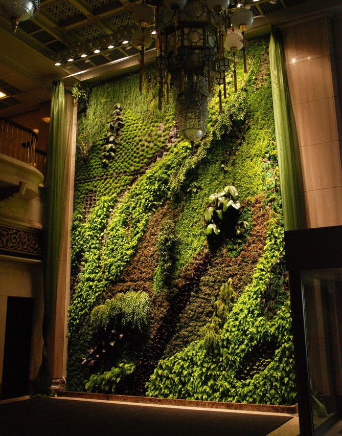 Vertical Garden, National Theater, Taipei