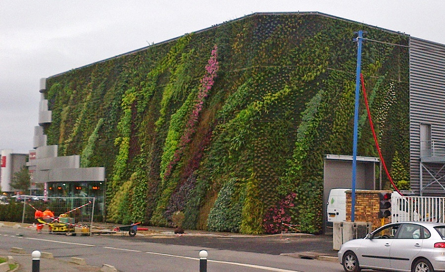 The vertical garden the art of organic architecture - Sainte genevieve des bois centre commercial ...